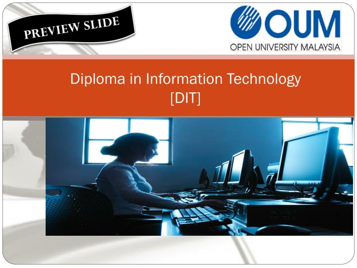 diploma in information technology dit n.