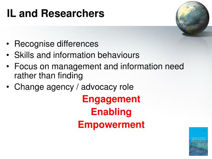 IL and Researchers