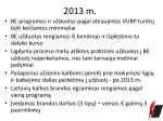 2013 m