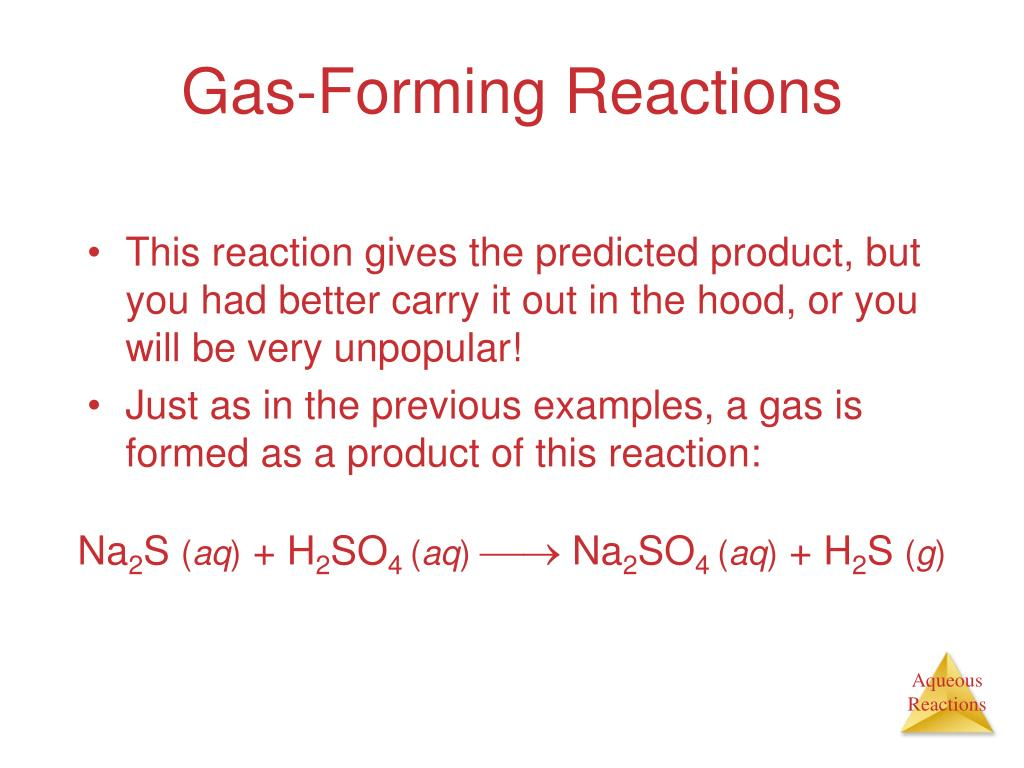 PPT - Chapter 4 Aqueous Reactions and Solution ...