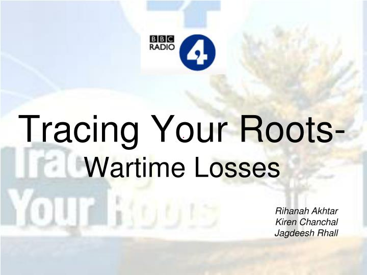 tracing your roots wartime losses n.