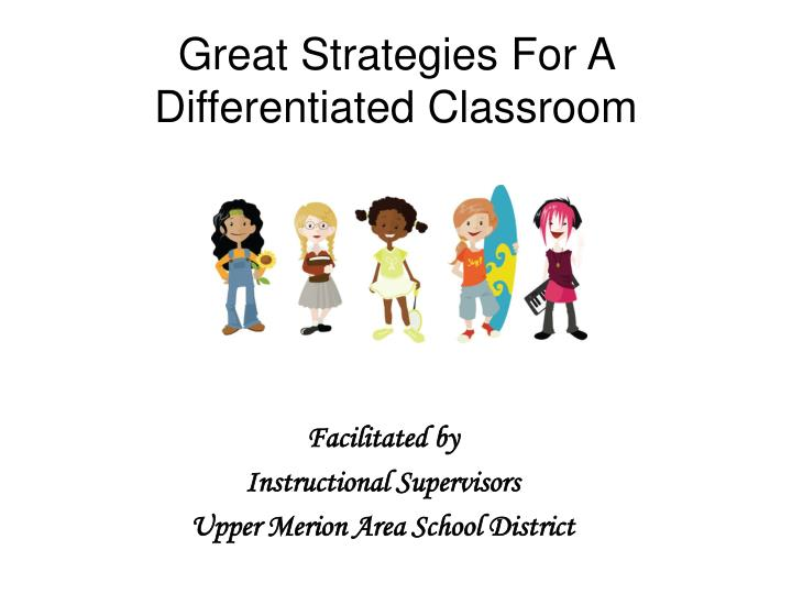great strategies for a differentiated classroom n.