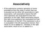 associatively