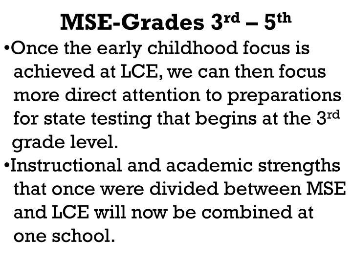 MSE-Grades 3
