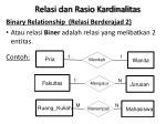 relasi dan rasio kardinalitas4