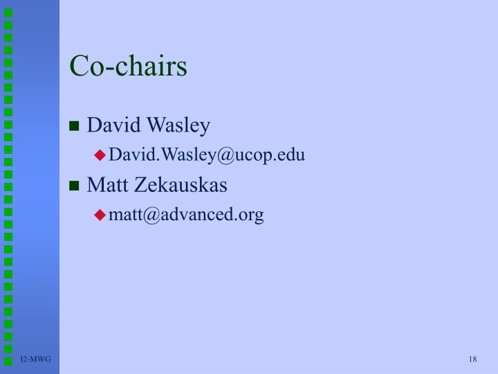 Co-chairs