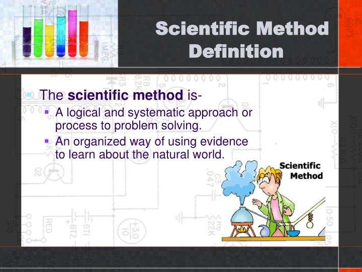 Scientific method definition