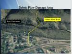 debris flow damage area