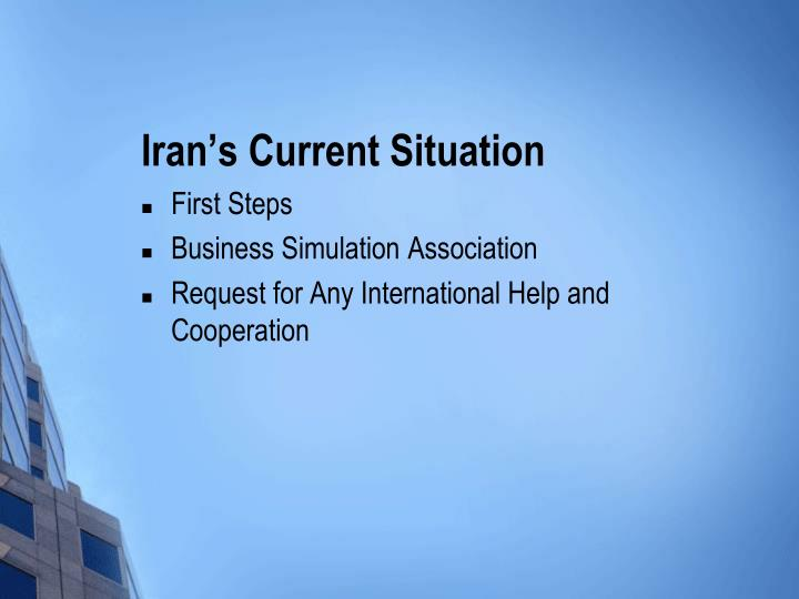 Iran's Current Situation