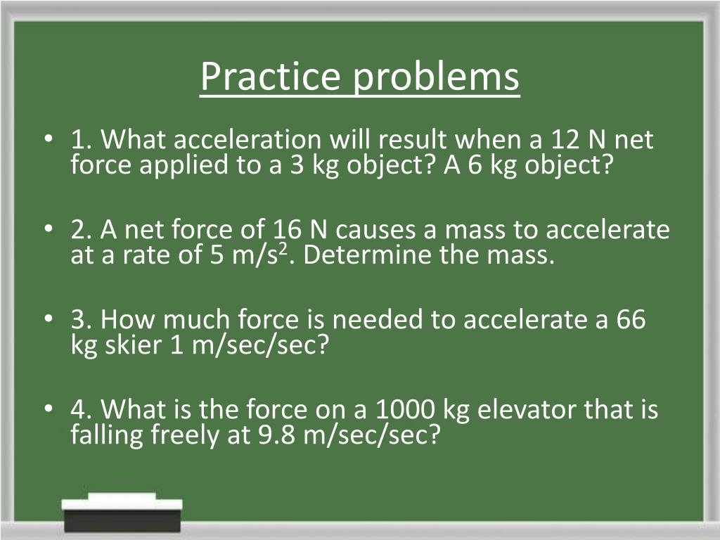 PPT - Newton's 2 nd Law PowerPoint Presentation - ID:5746027