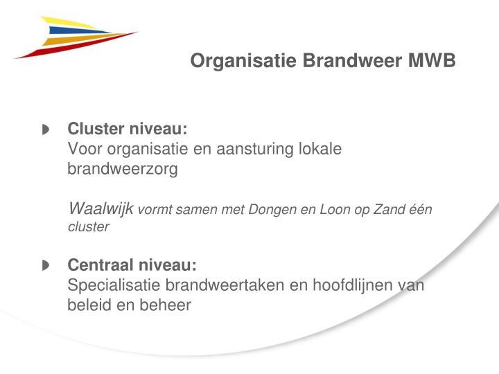 Organisatie Brandweer MWB