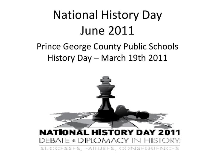 national history day june 2011 n.