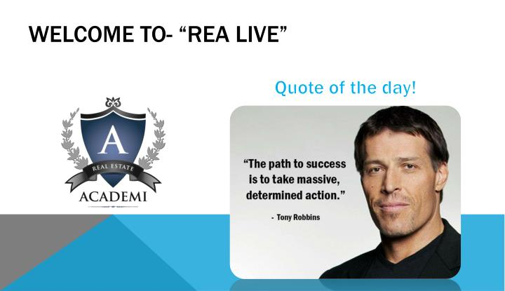 welcome to rea live n.