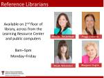 reference librarians