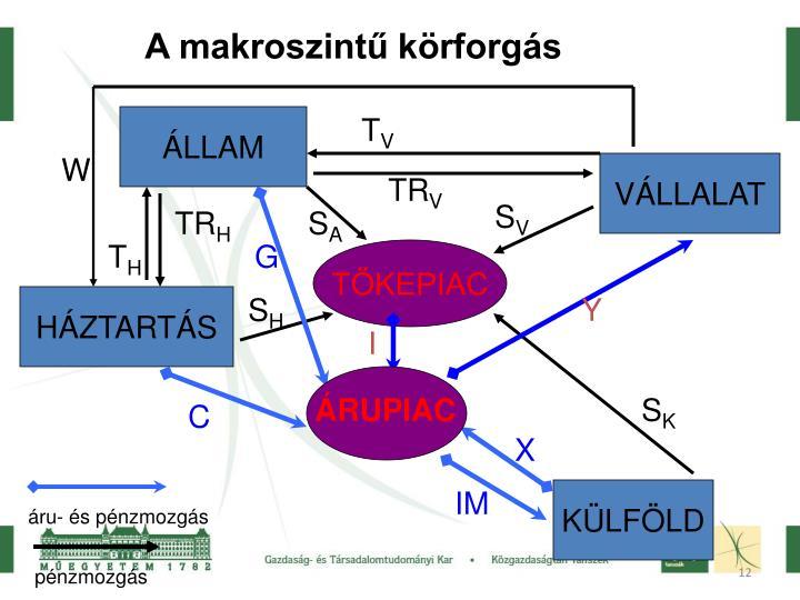A makroszintű körforgás