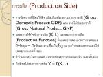production side