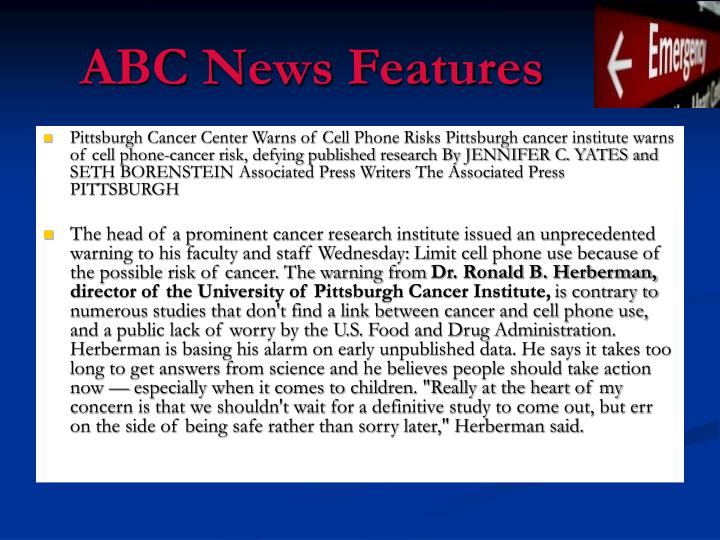Abc news features
