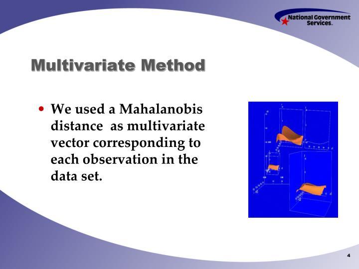 Multivariate Method