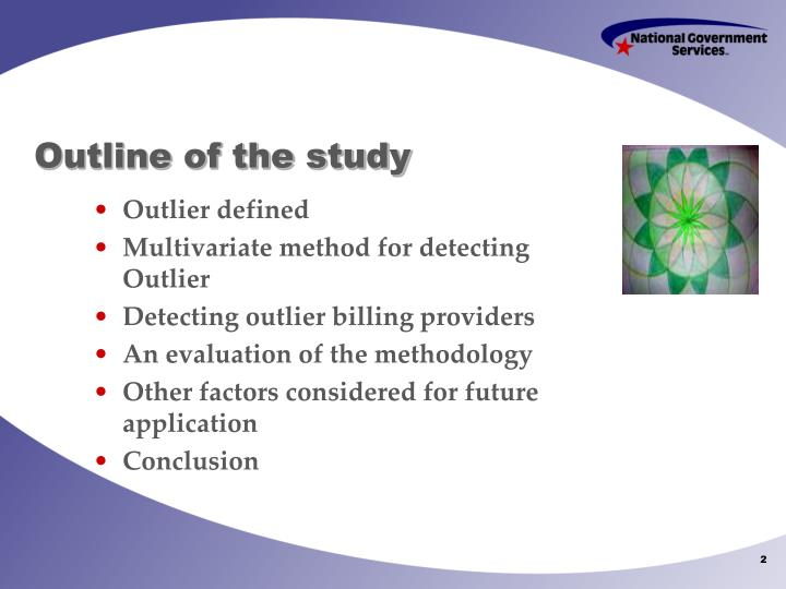 Outline of the study