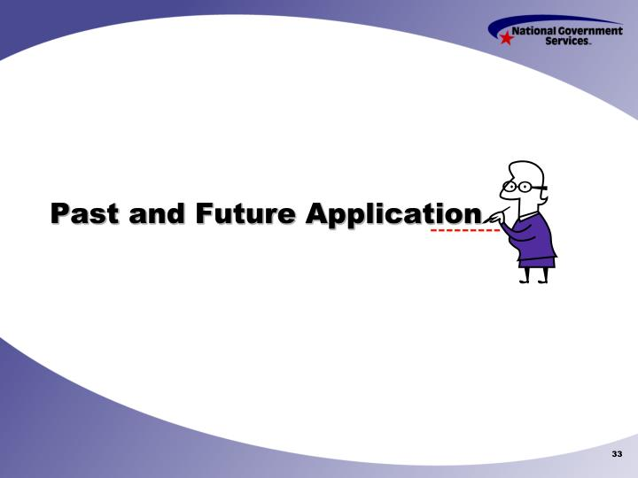 Past and Future Application