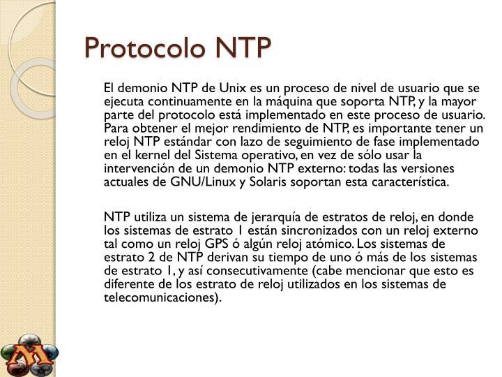 Protocolo ntp1