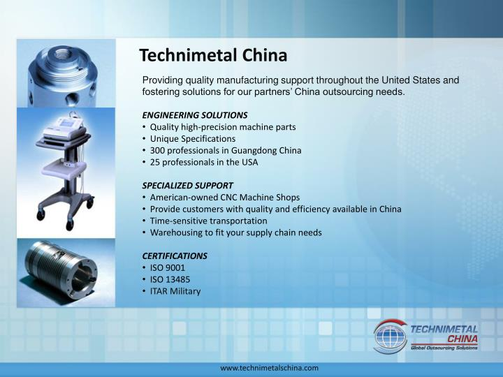 Technimetal china