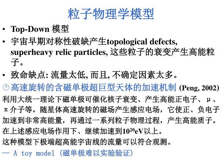 粒子物理学模型