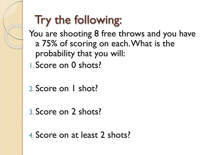 Try the following: