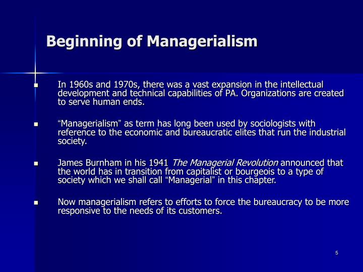 the managerial revolution essay The managerial revolution led to the rise of the modern business enterprise the managerial revolution is best described in 4 stages of development and change the pre-industrialization stage, the early industrialization stage, the railroad building stage, and the coming of the managerial revolution.