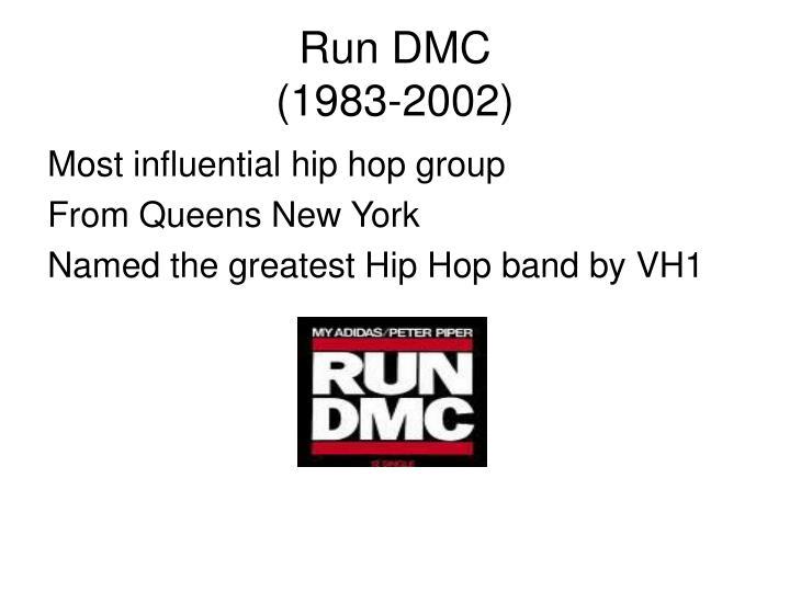 Run dmc 1983 2002