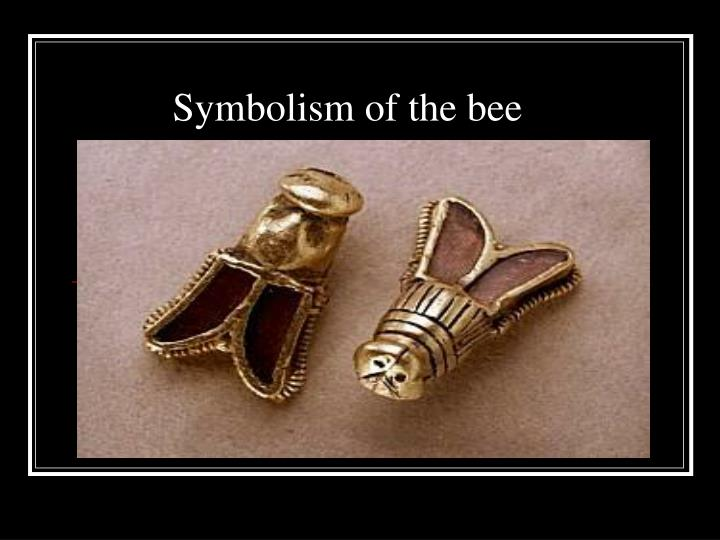 symbolism of the bee n.
