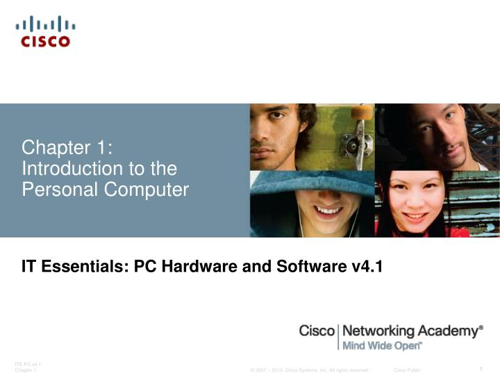 Chapter 1 introduction to the personal computer