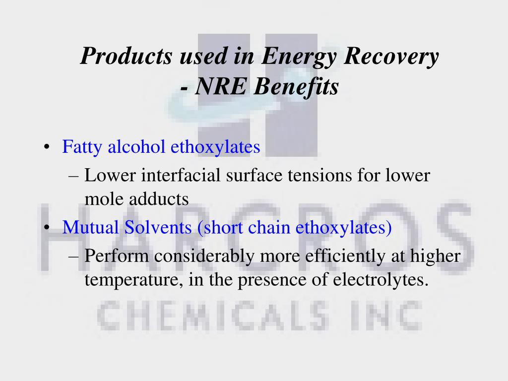 PPT - Harcros Narrow Range Ethoxylation Technology PowerPoint