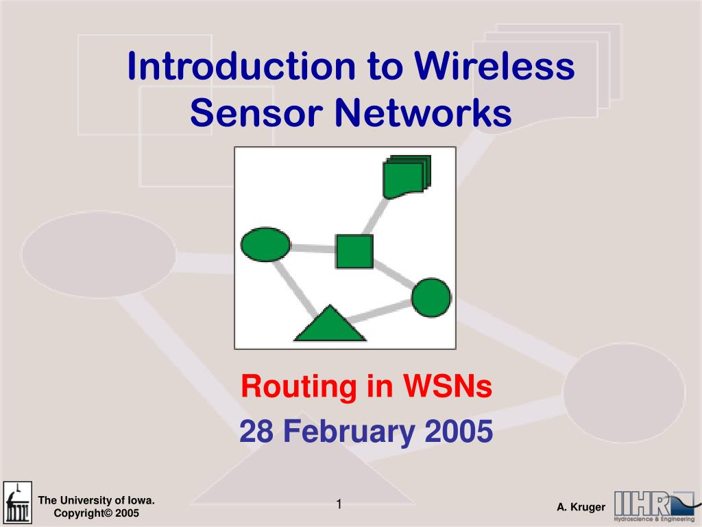 A survey on routing protocols for wireless sensor networks ppt.