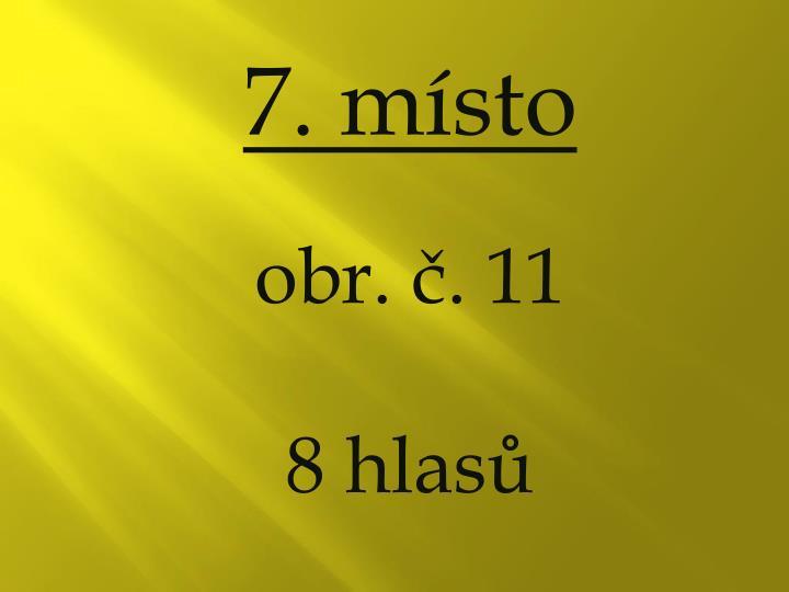 7. místo
