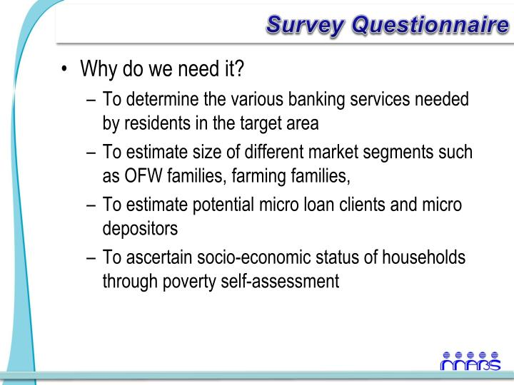 questionnaire on poverty survey