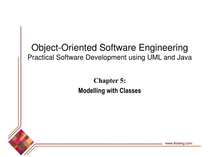 chapter 5 modelling with classes n.