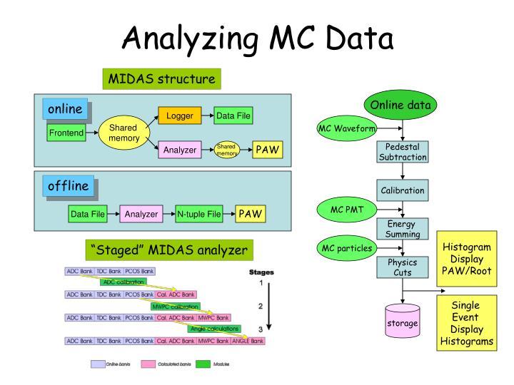 Analyzing MC Data