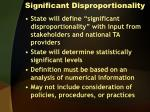 significant disproportionality1