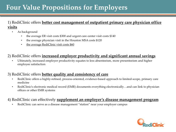 Four Value Propositions for Employers