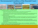 environmental condition of the emerald coast water quality1