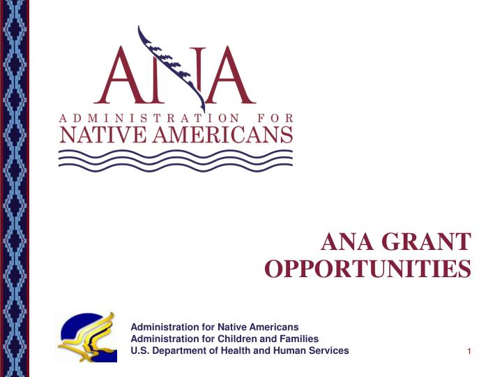 ana grant opportunities n.