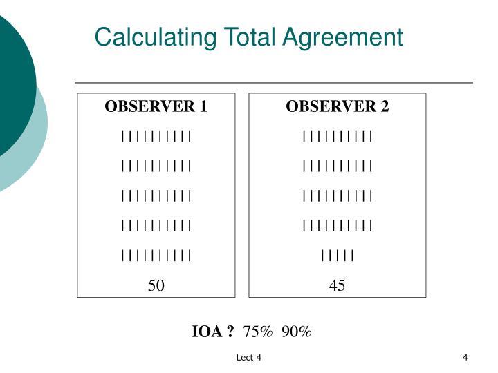 Ppt Interobserver Agreement Powerpoint Presentation Id5749329