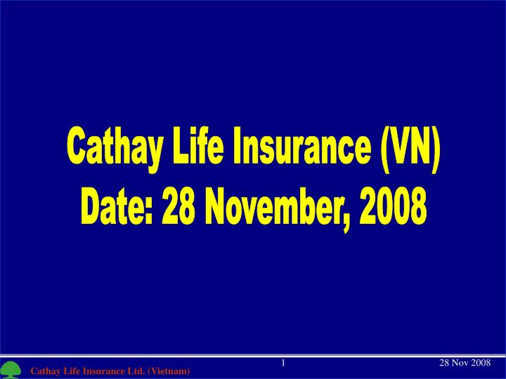 Cathay Life Insurance (VN)
