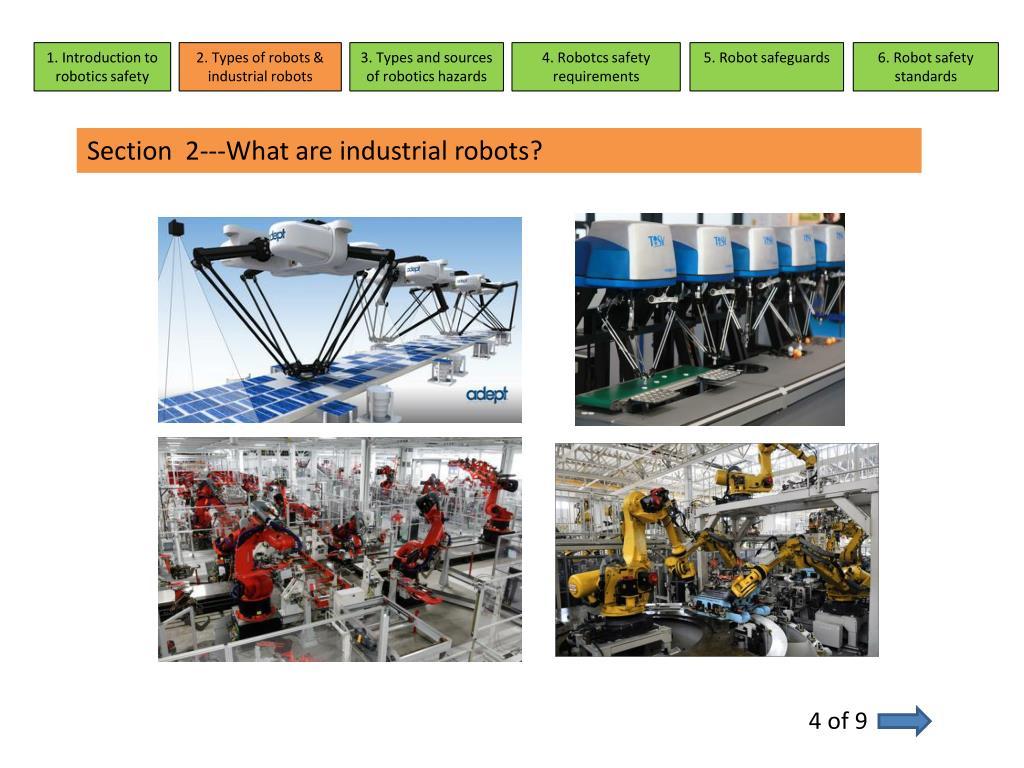 PPT - Robotics Safety PowerPoint Presentation - ID:5749549
