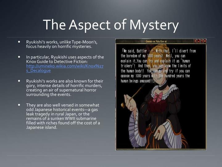 The Aspect of Mystery