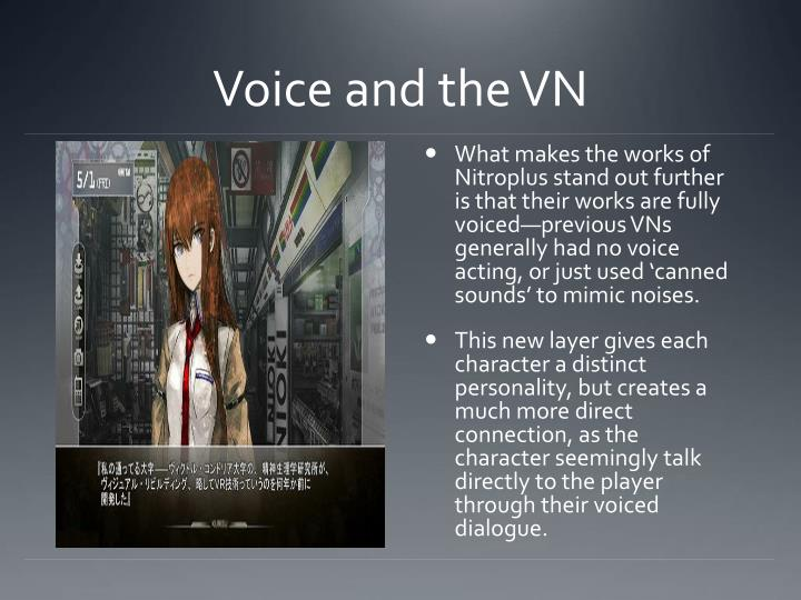 Voice and the VN