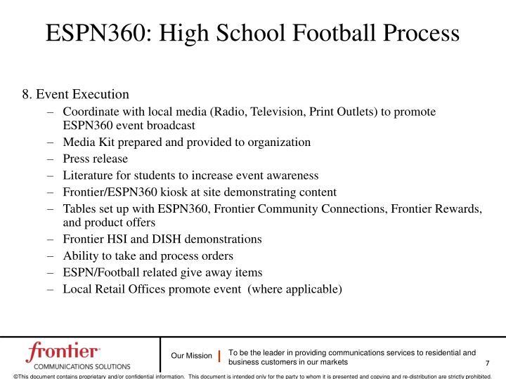 ESPN360: High School Football Process