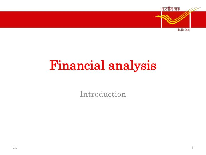 presentation on financial analysis 133 2014 2015 guidelines for the use of financial information all of the information used to conduct an analysis and develop the presentation for this event is public information.