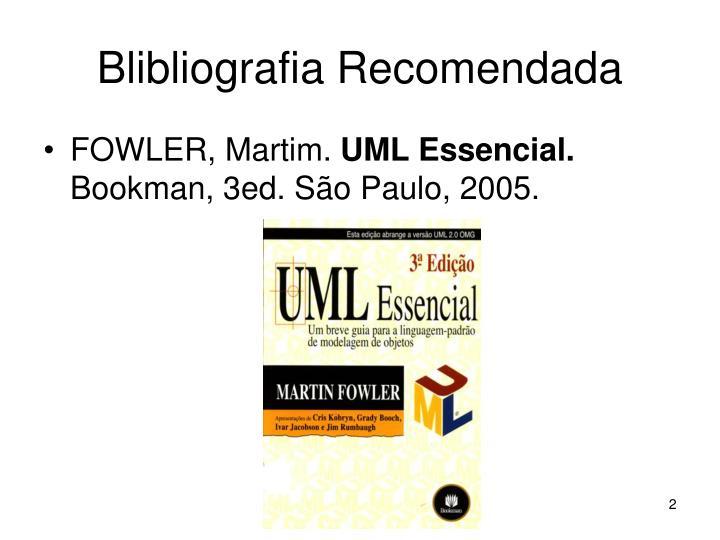 Blibliografia recomendada
